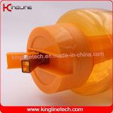 brocca di plastica 64oz/1800ml con il tubo del ghiaccio e della maniglia (KL-8027)