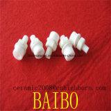 White 99% de cerámica alúmina Tornillo y tuerca