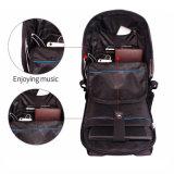 Sac d'école de sac d'affaires de mode grand d'ordinateur portatif de course anti-vol de sac à dos pour les filles et le garçon Mochila occasionnel