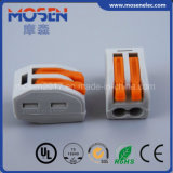 Wago 222 gleichwertige Verbinder des elektrischen Draht-2pin/3pin/5pin
