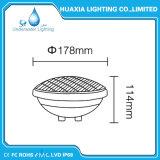 IP68 indicatore luminoso spesso della piscina di vetro 12V PAR56 LED per il raggruppamento