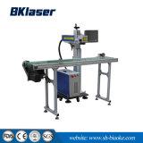 Marquage laser à fibre pour les pièces métalliques de la surface de la machine