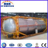 Contenitore del serbatoio di iso dell'acqua 36/38cbm del acciaio al carbonio di adattamento 20FT/acqua di mare