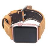 AppleのリストバンドのためのPanerai様式の本革の時計バンド