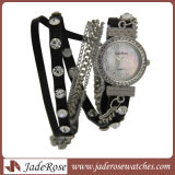Regarder en alliage, Fashion femmes montre-bracelet en cuir Bracelets Quartz