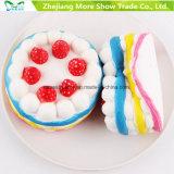 Het Toenemen Squishy van de Cake van de Aardbei van Kawaii het Room Gebemerkte Langzame Speelgoed van de Verlichter