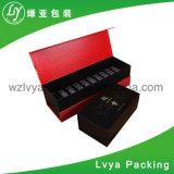 Rectángulo de regalo de empaquetado carbonizado retro cómodo del té de bambú de Eco