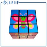 Baixa quantidade mínima de magia de plástico Puzzle Cube com o logotipo personalizado