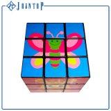 Низкая MOQ пластиковые головоломки Magic Cube с логотип