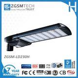 Luz 165W del estacionamiento de la UL LED de 7 años de garantía