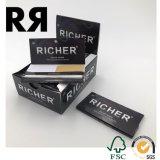 Ungebleichtes Brown-Walzen-Zigarettenpapier mit Magnet-Dichtung
