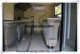 Trandaの熱い版のレストランの鶏のRotisserieの移動式レストランはトレーラーをトラックで運ぶ