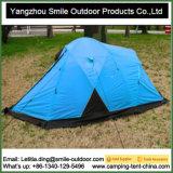 Barraca de viagem de acampamento ao ar livre resistente de 4 homens do vento do Vending melhor