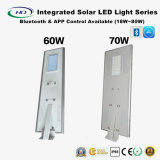 18-80W LED einteiliges Solarstraßenlaternemit Bluetooth u. APP