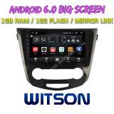 """Grande automobile DVD del Android 6.0 dello schermo di Witson 10.2 (BASSO) """" per Nissan Qashqai/X-Trail 2014-2016"""