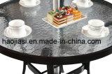 Rattan ao ar livre/jardim/Patio//tabela de alumínio HS6076dt