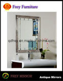 旧式なデザインPlataneの木製の浴室ミラー