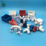 T diritto di plastica del PVC degli accessori del condotto di 25mm per gli accessori per tubi