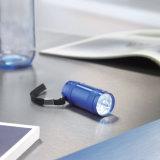 6 luzes de LED Lanterna mini em alumínio com alça de mão com o logotipo personalizado