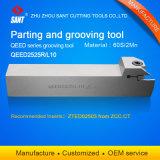 Venta caliente externa indexables herramientas ranurar Qeed2525L10