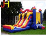 3 em 1 casa inflável de venda quente do salto do Bouncer inflável com corrediça