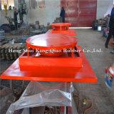Isolador de base qualificada para a construção dos apoios elásticos de chumbo