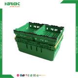 Magasin ferme à évent de fruits en plastique de la Caisse d'empilage pliable