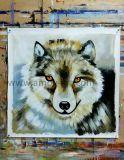 Pitture a olio Handmade di Fox su tela di canapa per la parete Decoration