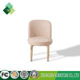 食堂の家具の木フレームの余暇の椅子の革張りのいす