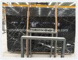 Lastra di marmo nera della Cina Italia per le mattonelle e la colonna
