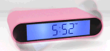 전복 디지털 손가락으로 튀김 시계 호리호리한 책상 테이블 침대 곁 자명종
