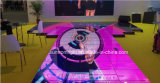 Farbenreiches Bildschirmanzeige-Video Dance Floor LED-P8
