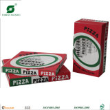 Caixa ondulada da pizza do papel de embalagem