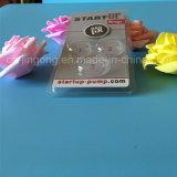 Caixa de embalagem da bolha do PVC para a embalagem limpa da bolha da parte superior da escova do cartão