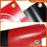 Kundenspezifisches Tintenstrahl-Drucken im Freienbelüftung-Vinylfahne