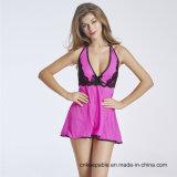 Women Sexy Nightwear Halter Lace Strap Underwear Lingerie Babydoll
