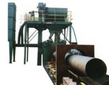 Tubo de acero Qgn Huaxing Granallado eficiente Máquina/Abrator