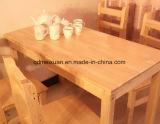 固体木のダイニングテーブルの居間の家具(M-X2445)