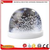 Dons Loja do globo de neve de plástico, água do teto bola de neve de plástico do Artesanato