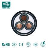 Kv 0.6/1~26/35kv Basse/moyenne/haute tension souterrain Fire-Resistant isolés de PVC blindés Câble d'alimentation