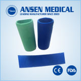 4 polegada 3,6M Fundição ortopédica de fibra de vidro colorido Fabricante de fita