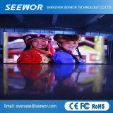 À CONTRASTE ÉLEVÉ DE P6mm Affichage LED transparente de l'écran de plein air avec Installation rapide et facile
