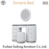 Muebles de diseño moderno cama Tabla Ys7021
