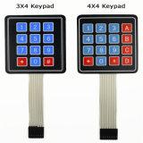 4*4 مادّة ترابط صفّ/مادّة ترابط لوحة مفاتيح 16 أساسيّة عادة [ممبرن سويتش] لوحة أرقام