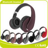 Auscultadores sem fio Handsfree dos auriculares de Bluetooth do projeto novo com rádio de FM