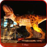 Dinosauro a grandezza naturale T-Rex di Animatronic del dinosauro