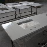 Partie supérieure du comptoir extérieure extérieure solide imperméable à l'eau de cuisine/Worktop extérieur solide acrylique