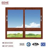 алюминий 5mm одиночный Tempered сползая изоляцию жары Windows с сетью обеспеченностью