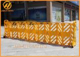 Gelbe expandierbare Plastikstraßen-Sperre zur Masse-Steuerung