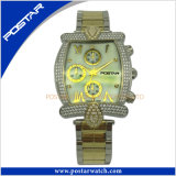 Reloj modificado para requisitos particulares del cuarzo de la manera del cronógrafo de Mutifunction para los hombres Psd-2591